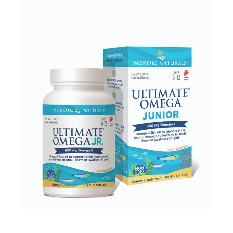 Nordic Naturals Ultimate Omega Junior, 90pcs