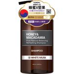 Kundal 蜂蜜堅果天然洗髮乳 白麝香 500毫升