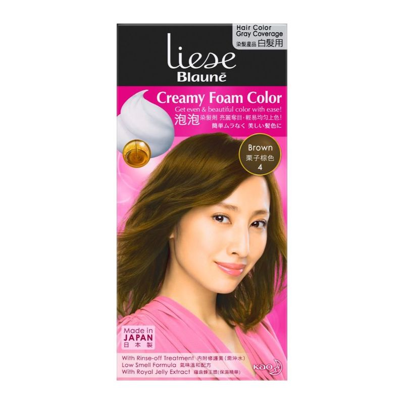 Liese Blaune Foam Color Brown