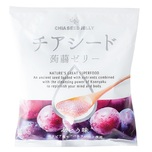 Wakashou Chia Seed Konnyaku Jelly(Grape) 175g