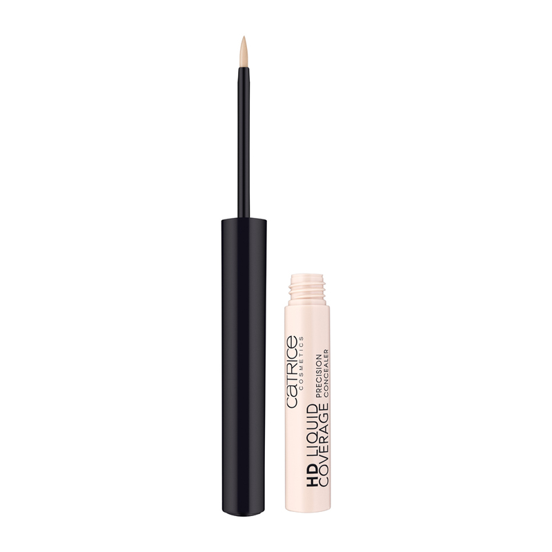 Catrice HD Liquid Coverage Precision Concealer Foundation 010 Light Beige, 2.5ml