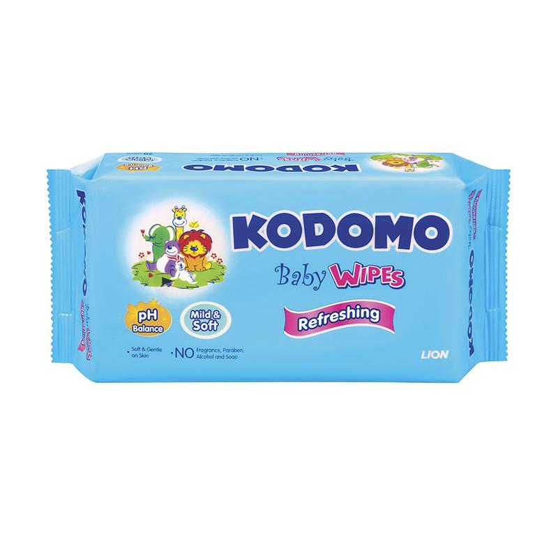 Kodomo Refreshing Baby Wipes Triple Pack, 3x70pcs