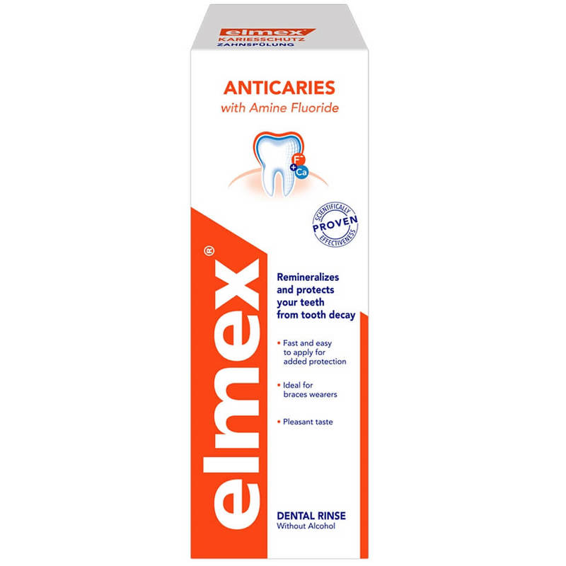 Elmex Anti-Caries Mouthwash 400ml