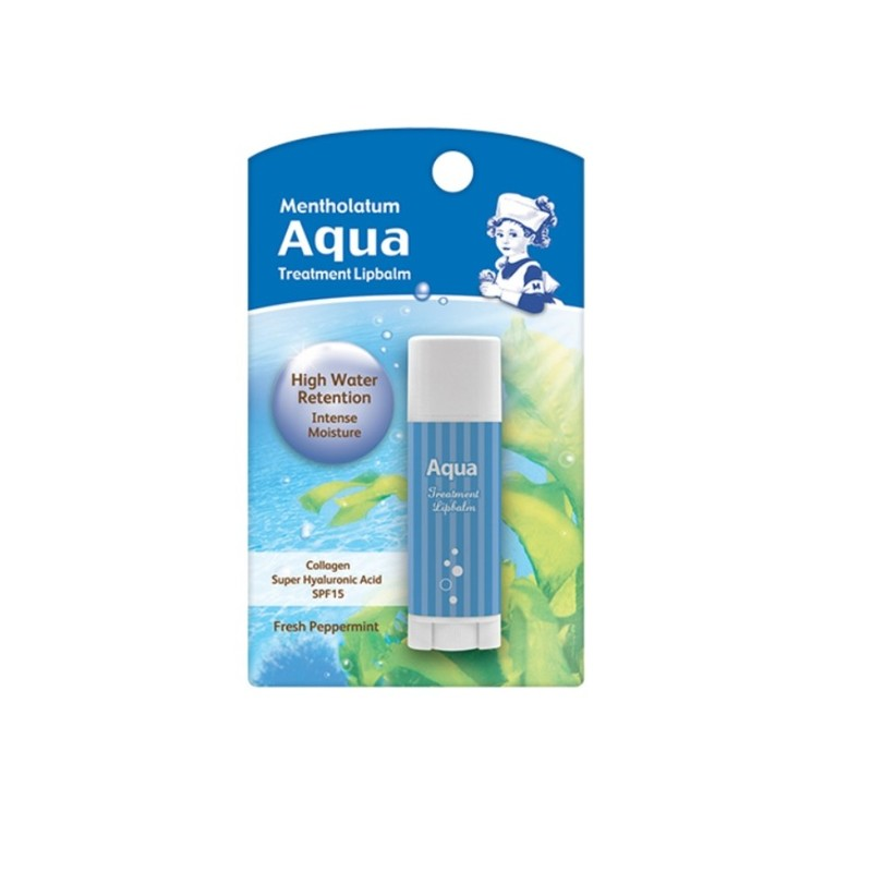 Mentholatum Aqua Treatment Lip Balm, 3.5g