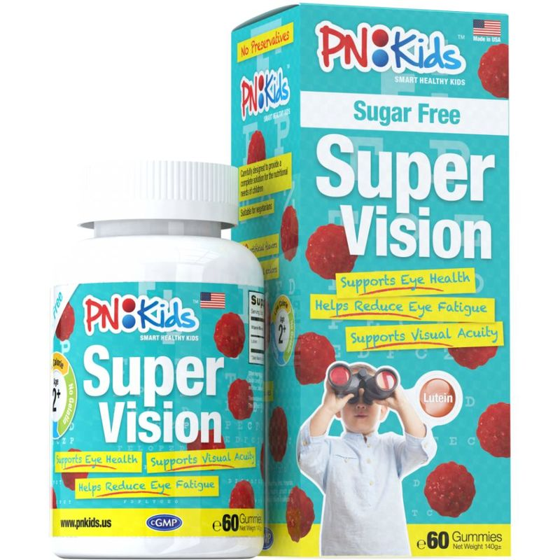 PNKids Super Vision Sugar Free Gummies Twin Pack