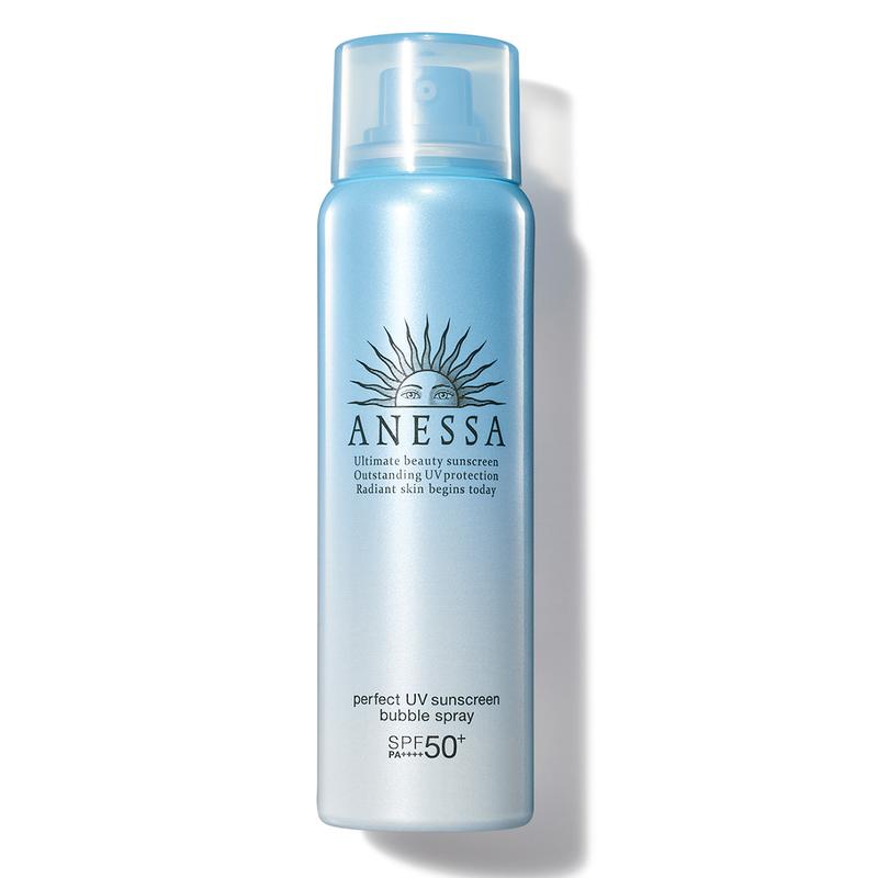 Anessa Perfect UV Sunscreen Bubble Spray SPF50+ PA++++ 60g