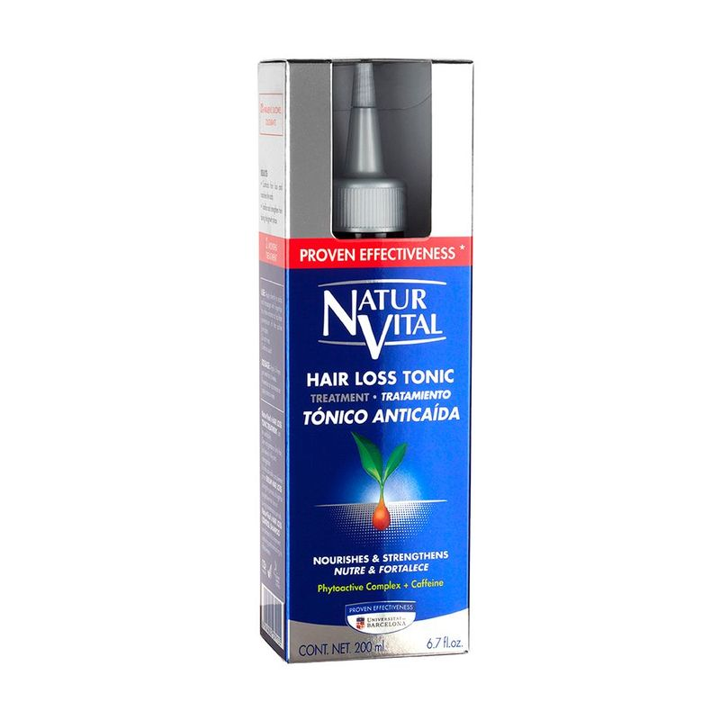 Natur Vital Hair Loss Tonic Treatment, 200ml