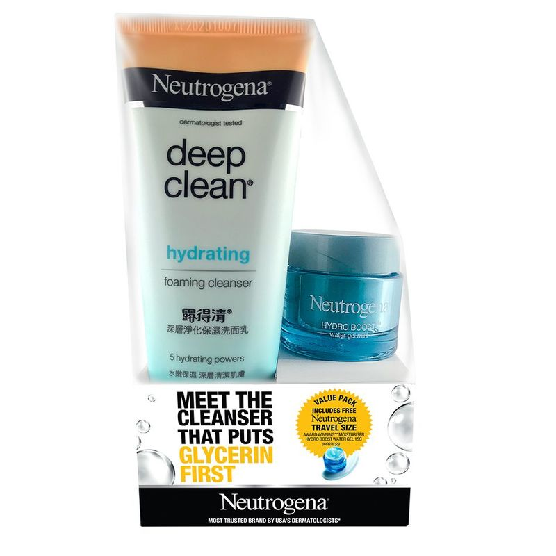 Neutrogena DC Hyd Foam Cleanser Twin Pack, 100g