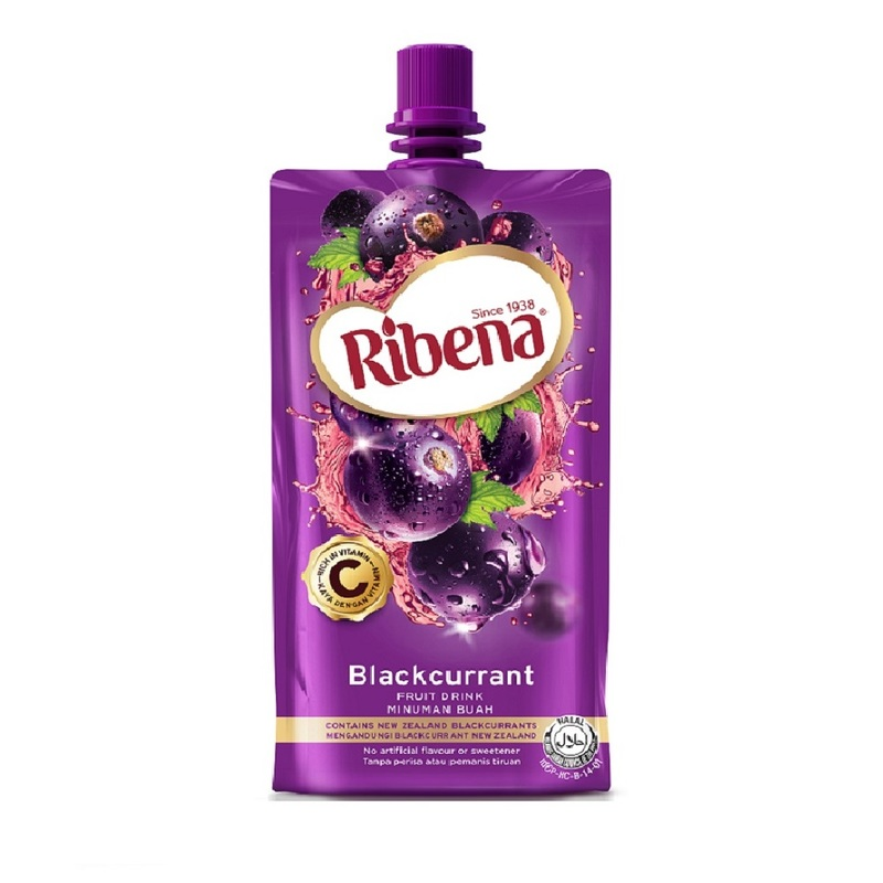 Ribena Blackcurrant Fruit Drink Cheerpack 330ml