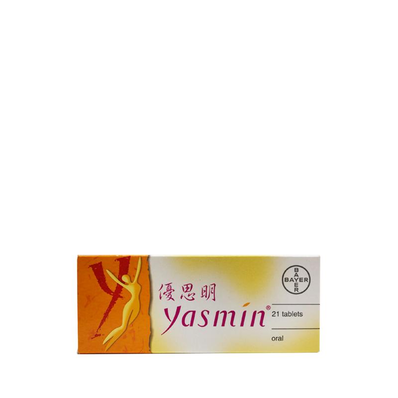 Yasmin Contraceptive Pill 21 Tablets