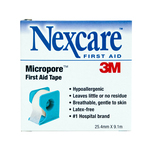 Nexcare Micropore 25.4mm x 9mm with Dispenser