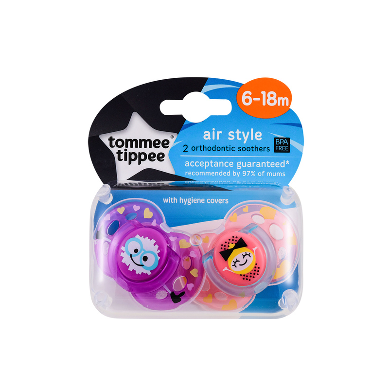 Tommee Tippee (6-18M) Air Soother 2pcs