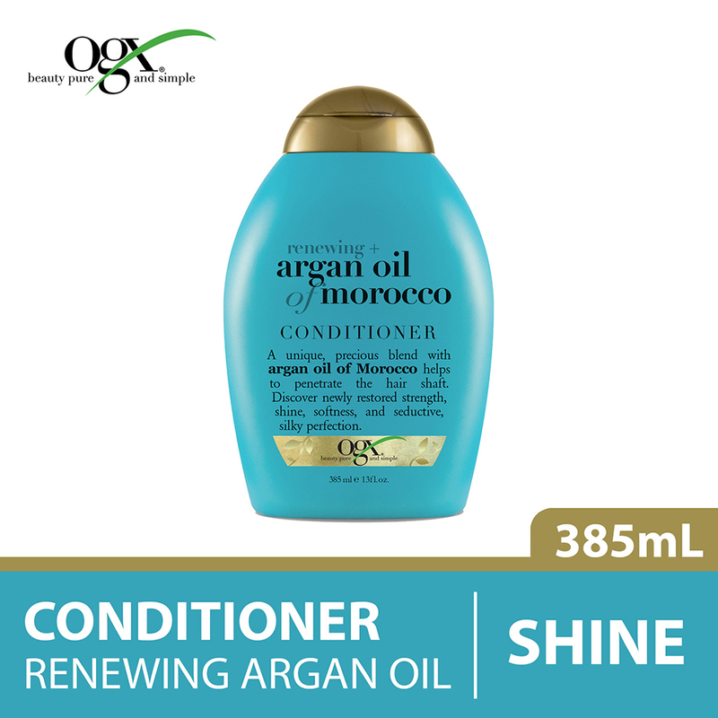 Ogx Renewing Moroccan Argan Oil Conditioner, 385ml