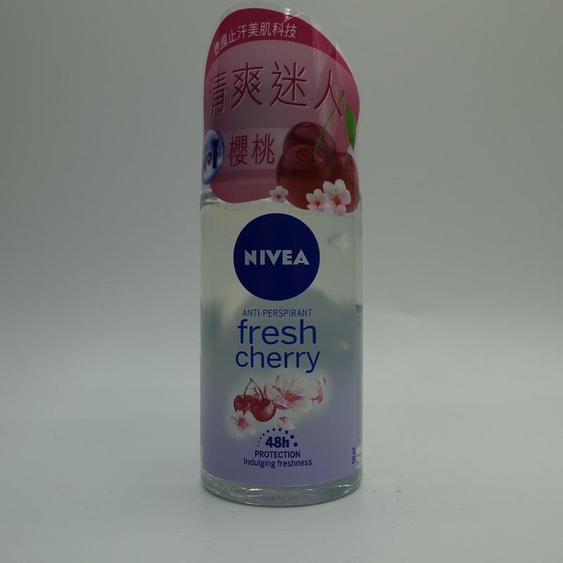 Nivea Deo Roll On-Fresh Cherry 50mL