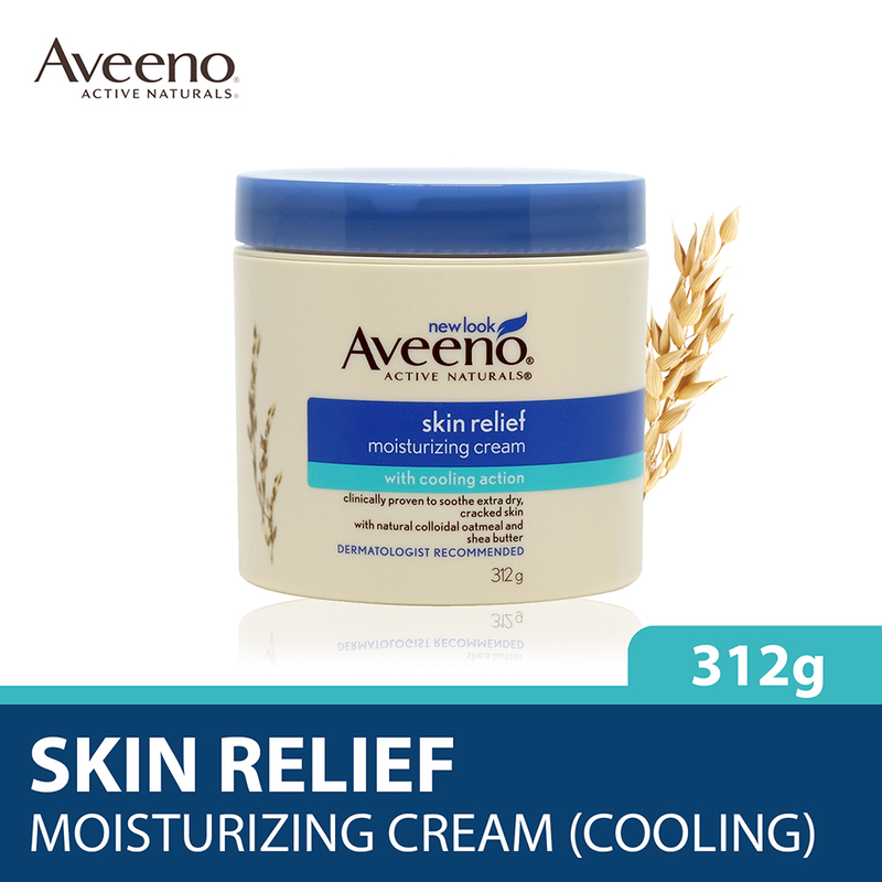 Aveeno Skin Relief Moisturizing Cream with Cooling Action, 312g