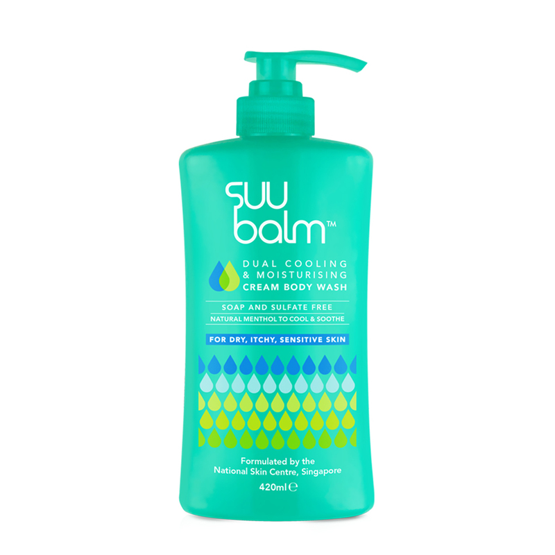 Suu Balm Cream Body Wash 420ml