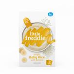 Little Freddie Organic Simply Baby Rice w/ Banana 80gx2