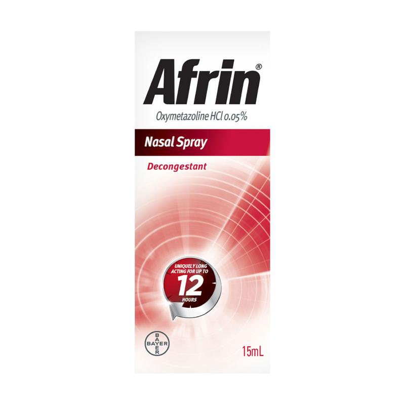 Afrin Nasal Decongestant Spray, 15ml