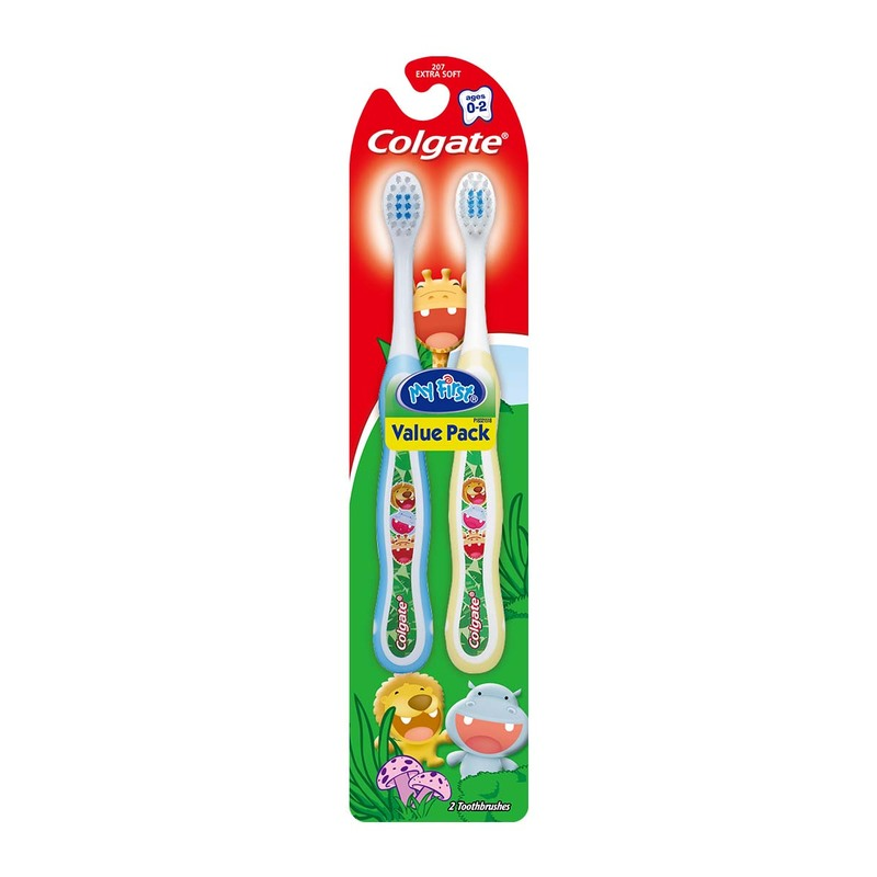 Colgate My First Toothbrush for Kids Twin Pack X2pcs