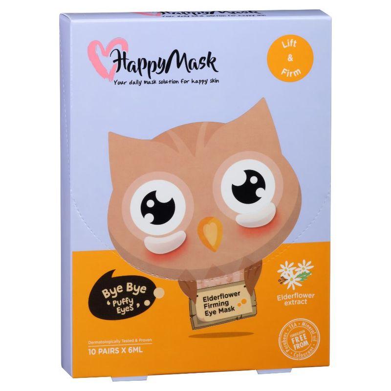 HappyMask Firm Owl Elder Flower Eye Mask