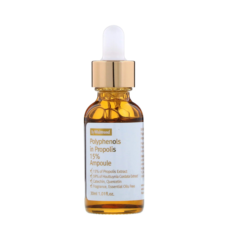By Wishtrend Polyphenols in Propolis 15% Ampoule, 30ml