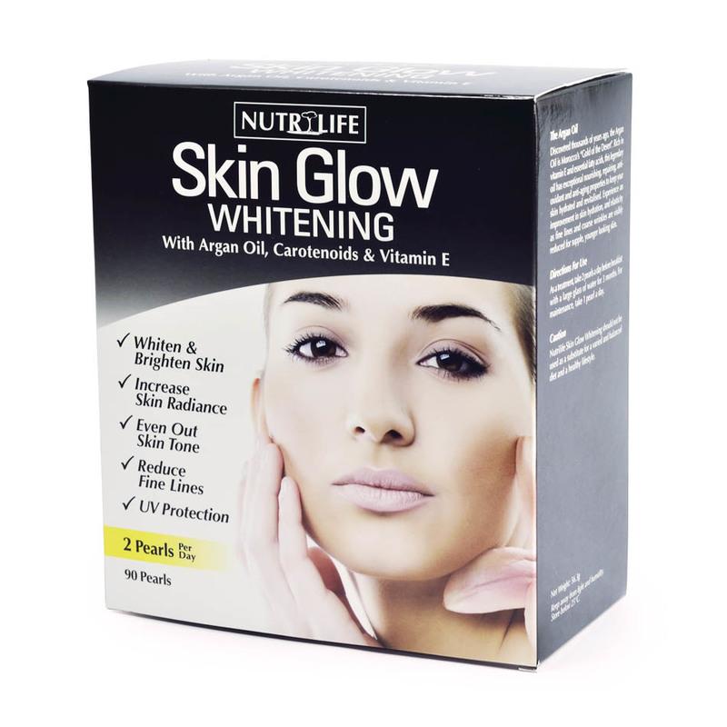 Nutrilife Skin Glow Whitening, 90 tablets