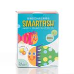 Smartfish Smooth Creamy Dha Fish Oil 28 Bags