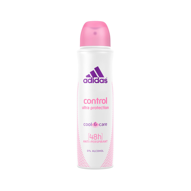 Adidas Women Control Ultra Protection 6 in 1 Spray, 160ml