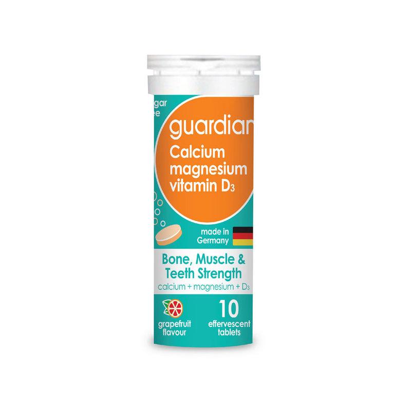 Guardian Calcium magnesium & D3 Effervescent tablets 10 pieces