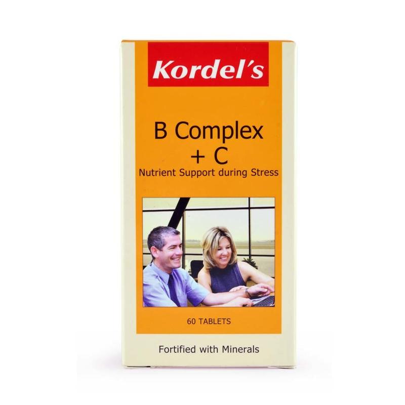 Kordel's Viatmins B Complex + C, 60 tablets