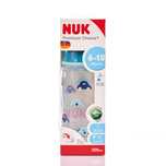Nuk PCH PP Bottle with Silicon Teat (6-18Months) 300mL
