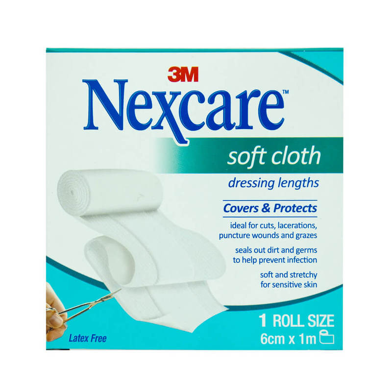 Nexcare Soft Cloth Dressing Length