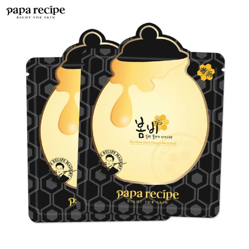 Paparecipe Bombee Black Honey Mask Pack 25G X 10pcs