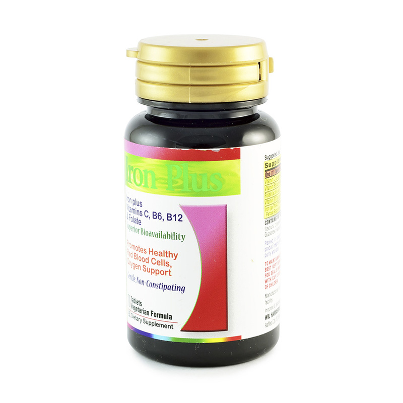 Nature's Essence Iron Plus, 70 tablets