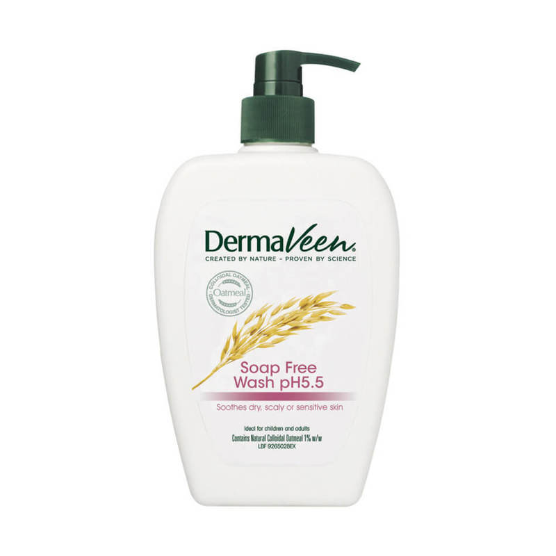 DermaVeen Soap Free Wash pH 5.5, 500ml