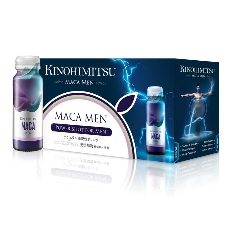 Kinohimitsu Maca Men Power Shot, 10pcs
