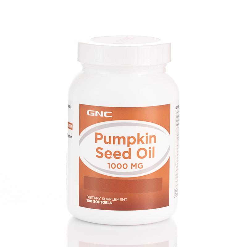 GNC Pumpkin Seed Oil 100pcs