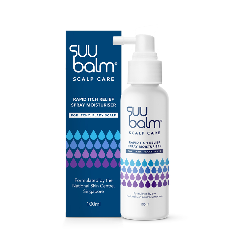 Suu Balm Scalp Rapid Itch Relief Spray Moisturiser 100ml