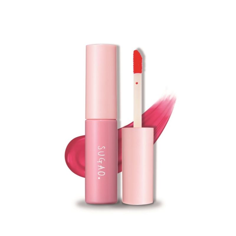 Sugao Lip Tint Berry Pink 4.7ml