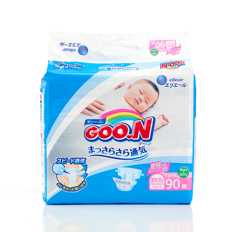 Goo.N Diaper Newborn 90pcs