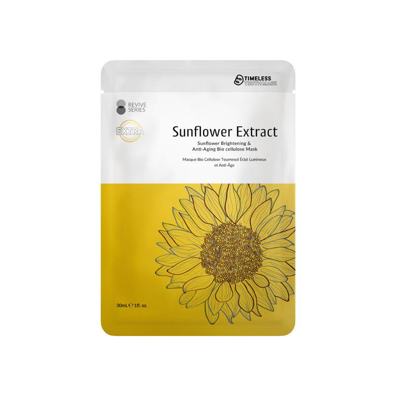 Timeless Truth Sunflower Brightening & Anti-Aging Bio Cellulose Mask