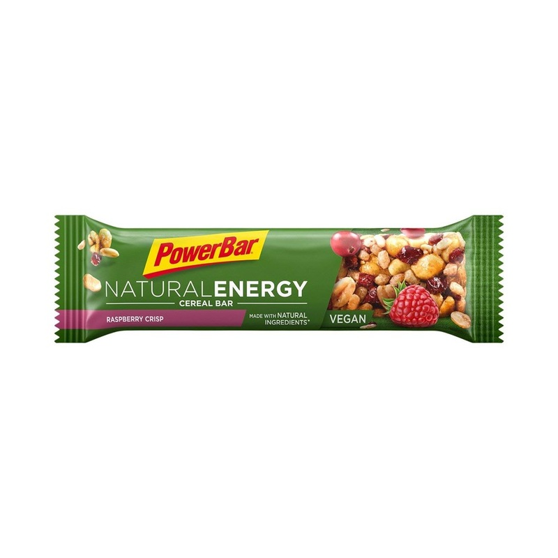 Powerbar Natural Energy Raspberry Crisp Cereal Bar, 40g