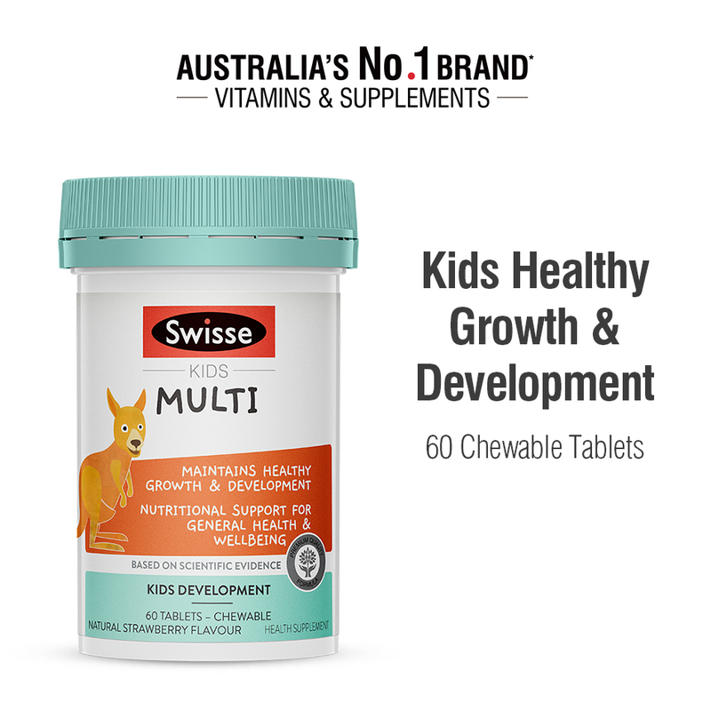 Swisse Kids Multi Vitamin, 60 tablets