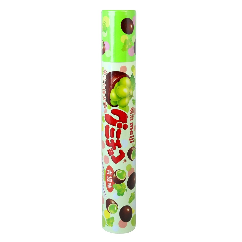 Meiji Muscat Gummy Chocolate Tube 96 g