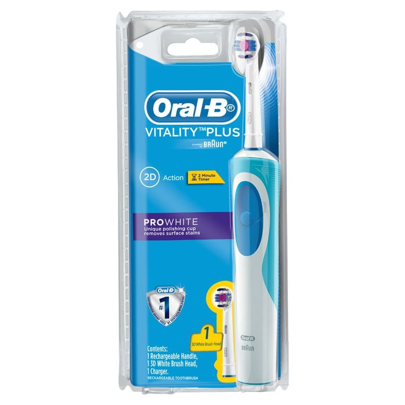 Oral-B Vitality Plus Prowhite Rechargeable Toothbrush
