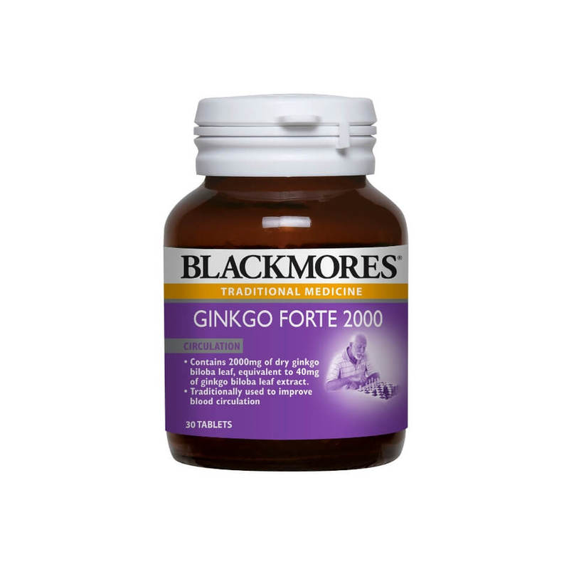 Blackmores Gingko Forte 2000, 30 tablets