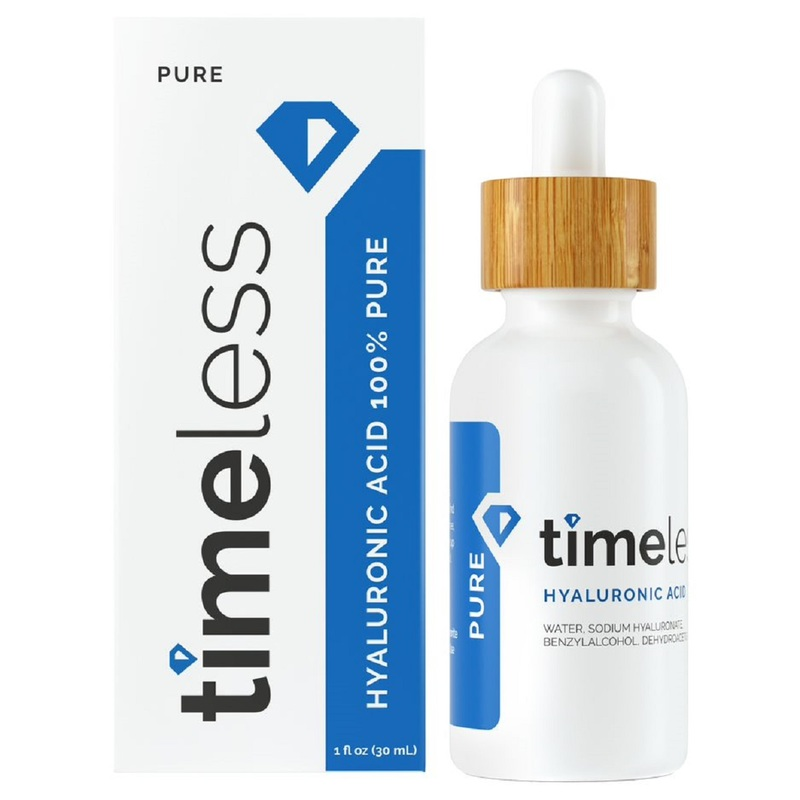 Timeless Hyaluronic Acid 100% Pure Serum 30mL