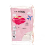 Mannings Ladies Disposable Panty M 5pcs