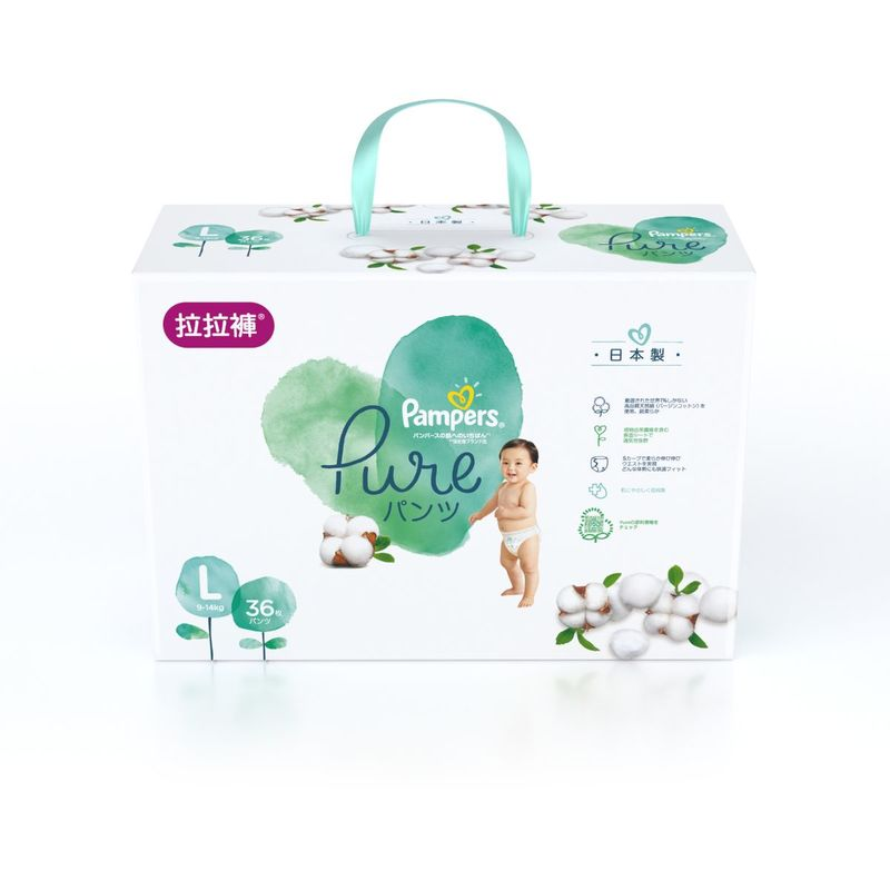 Pampers Pure Pants LG 36pcs