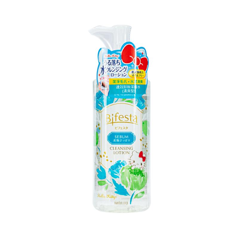 Bifesta Sebum Cleansin Lot Hello Kitty Version 300mL